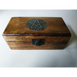 Caja Ritualizada Pentáculo...
