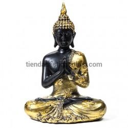 Buda negro y oro