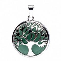 Jade Verde Árbol de la Vida