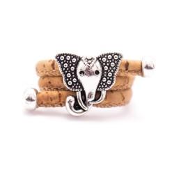 Anillo Elefante Corcho
