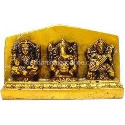 Ganesh, Laxmi y Sarasvati