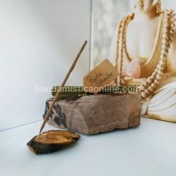 Pack Quemador Rústico + Inciensos Artesanos y Naturales