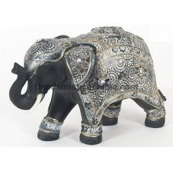 Elefante Negro Mandala