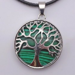 Malaquita Árbol de la Vida